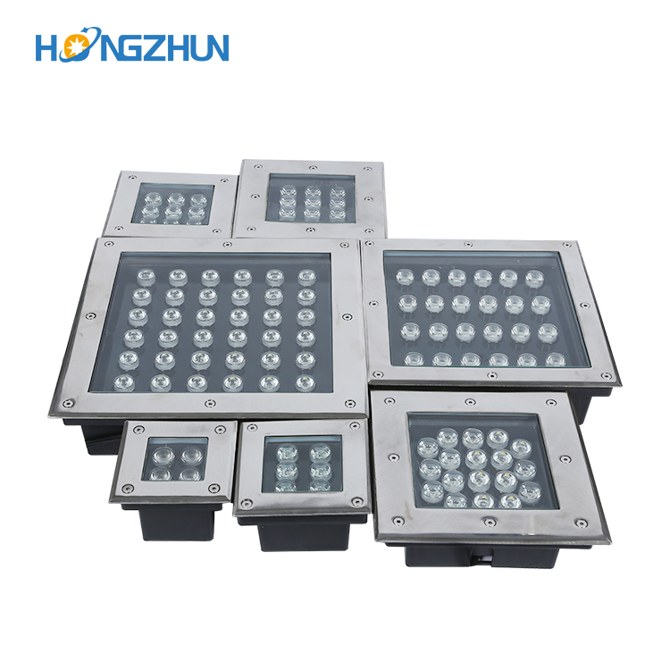 Square LED Underground Light 3W/4W/5W/6W/9W/12W/16W/24W/36W LED Outdoor Ground Light Garden Path Buried Yard Lamp AC85-265V IP67