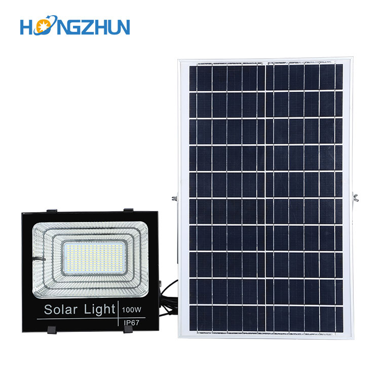 100w 200w Solar led flood light case