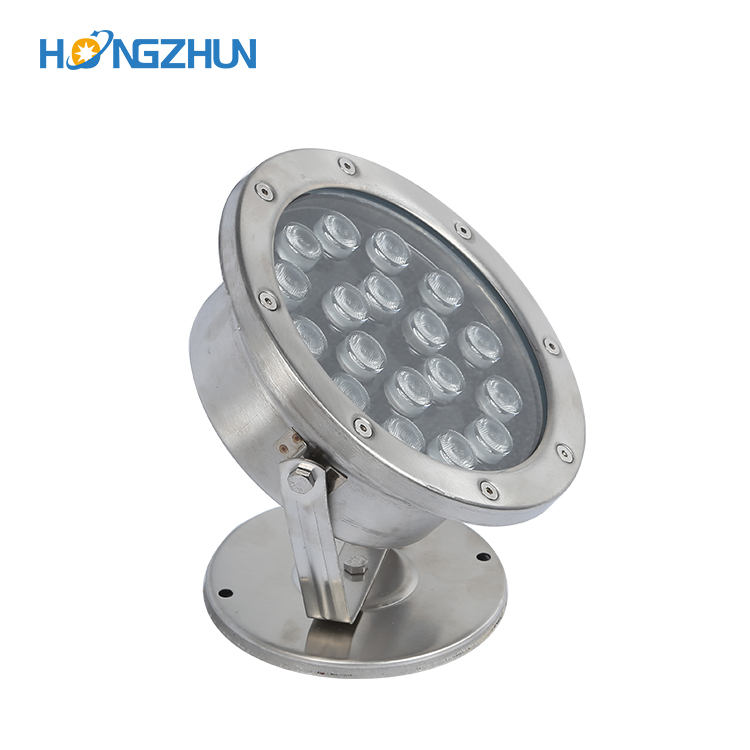 Hot sale fountain decoration ip68 stainless steel 304 outdoor waterproof 9w 12w 15w 18w led underwater light