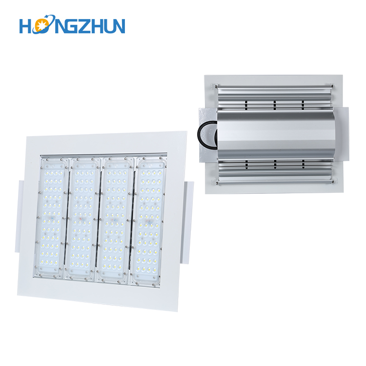 Ip65 outdoor waterproof Brideglux smd 50w 80w 100w 120w 150w 180w 220w Gas Station LED Canopy Light